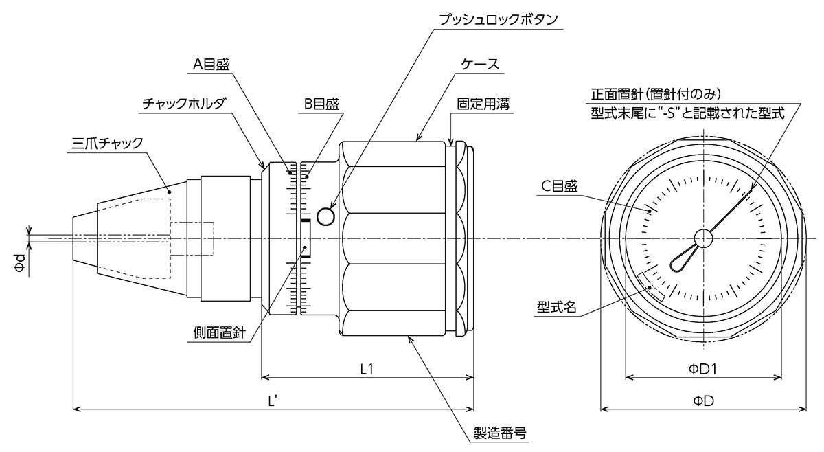 0.5~6 cNm Tohnichi Torque Gauge ATG6CN-S